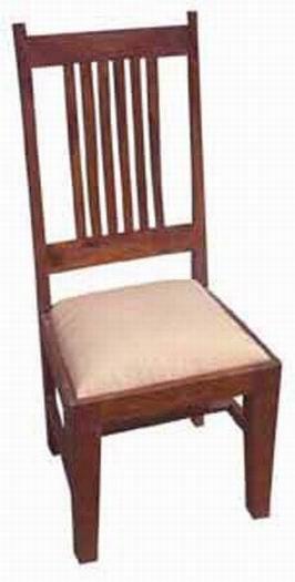 Milton Solid Sheesham Wood Armchair