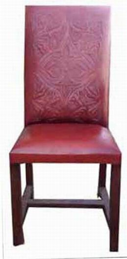 Adire Solid Wood Armchair