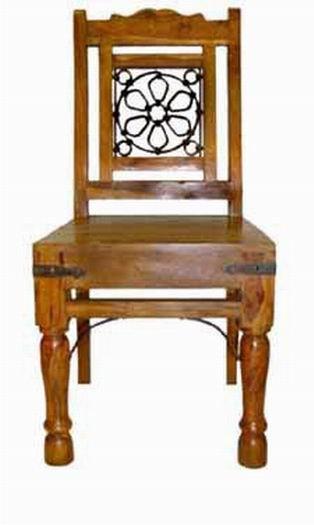 Kiplin Sheesham Wood Armchair