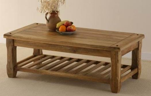 Alanis Solid Coffee Table