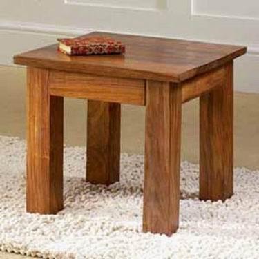 Enkel Solid Sheesham Wood Nest of Tables