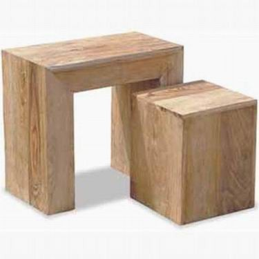 Coleman Solid Wood Nest of Tables