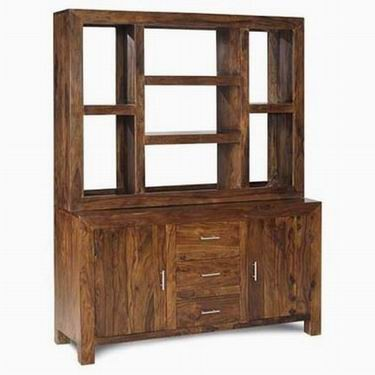 Hagborg Solid Sheesham Wood Cabinet