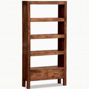 Eva Solid Wood Book Shelf
