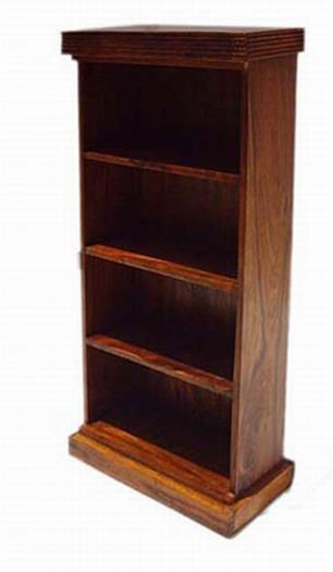 Louis Solid Wood Book Shelf