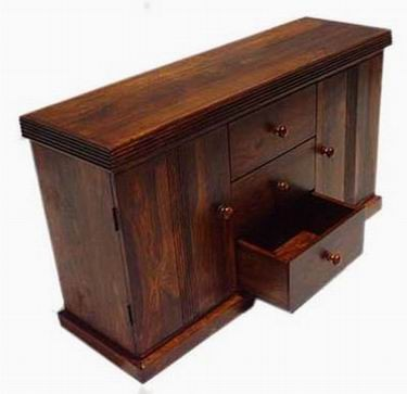 Morse Solid Sheesham Wood Cabinet