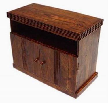 Enkel Solid Wood Cabinet
