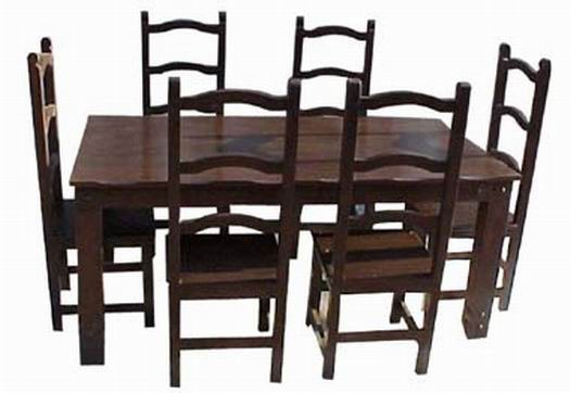 Tim Extendable Sheesham Wood Dining Table