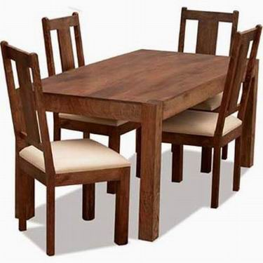 Cambrey 4 Seater Sheesham Wood Dining Table