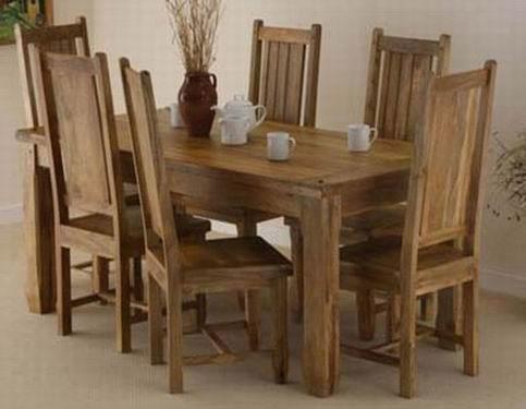 Mcbeth Solide Sheesham Dining Table