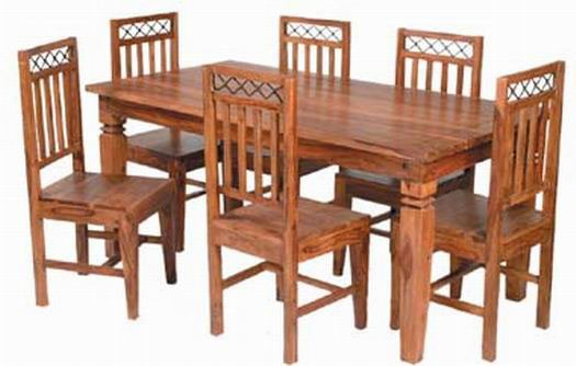 Hagborg Sheesham Wood Dining Table