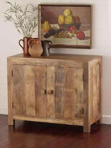 Krisa Sheesham Wood Cabinet