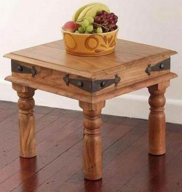 Oriel Solid Wood Coffee Table