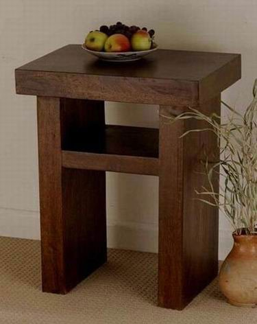 Stacy Solid Wood Coffee Table