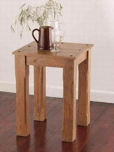 Steller Solid Sheesham Wood Coffee Table