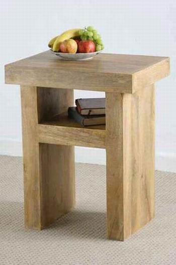 Omar Solid Wood Coffee Table