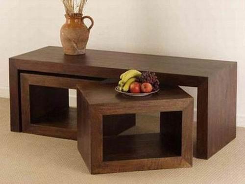 Aubrey Solid Wood Coffee Table