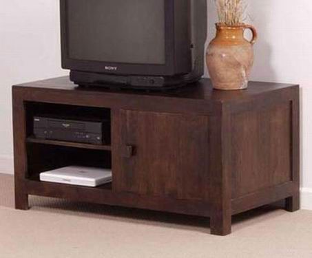 Melvina Sheesham Wood Tv Unit