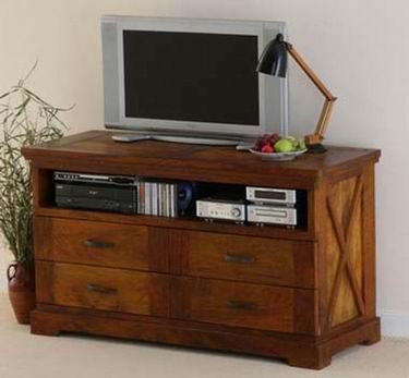 Paladin Solide Sheesham Wood TV Unit