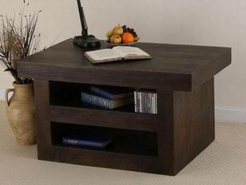 Solari Solid Sheesham Wood Tv Unit