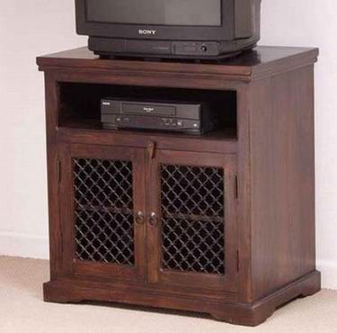 Lynton Sheesham Wood Small Tv Unit