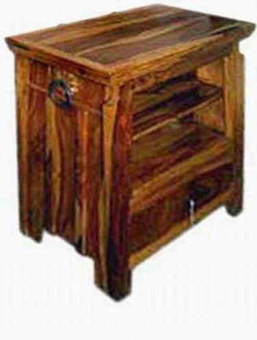 Carvel Solid Sheesham Wood Tv Unit