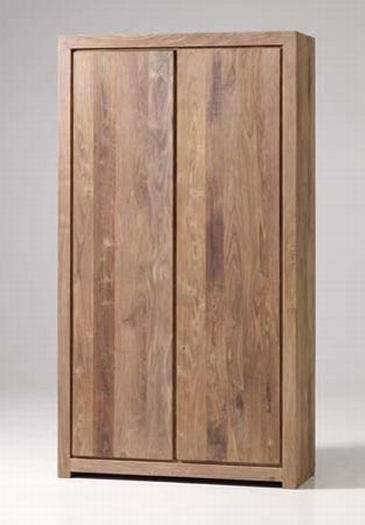 Segur Solid Wood 2 Door Wardrobe