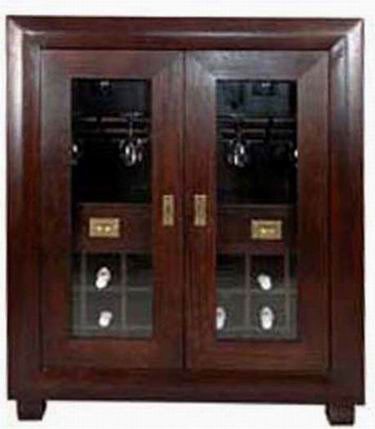 Segur Solid Sheesham Wood Cabinet