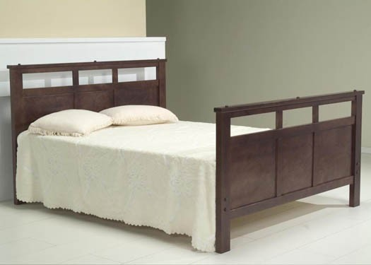 Alanis Solid Wood Bed