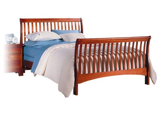 Oretta Solid Wood Bed
