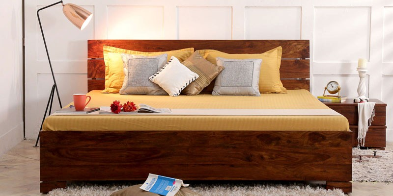 Queen Bed With Box