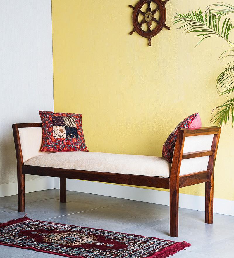 Sheesham Wood Bench for Living Room
