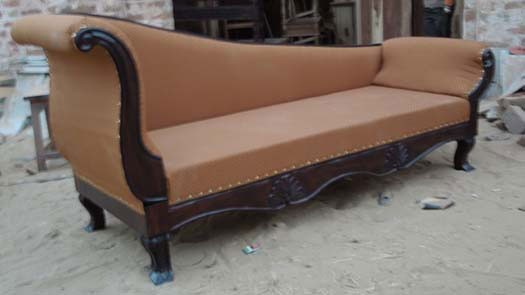 Raiden Solide Sheesham Wood Sofa