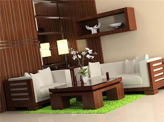 Hizen Sheesham Wood Sofa
