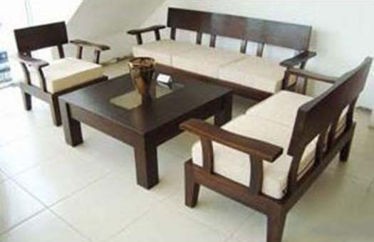 Lannister Wooden Sofa