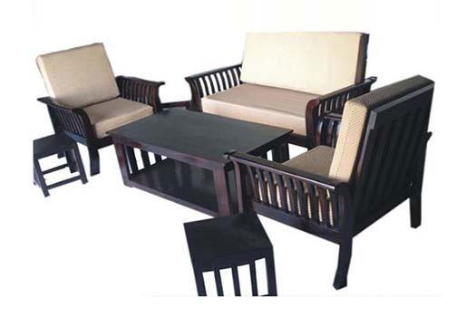Hizen Wooden Sofa