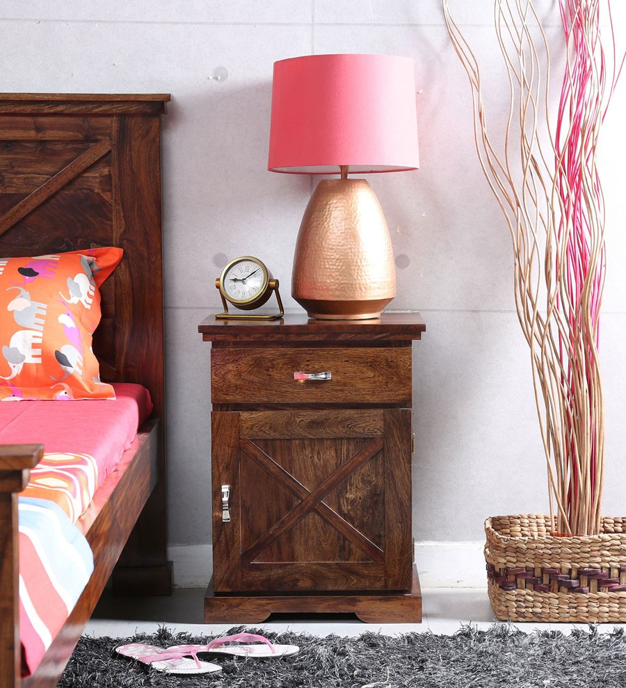 Sheesham Wood Bed Side Table