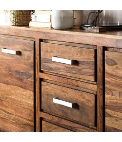 Adolph Solid Sheesham Wood Port Said Board Furniture (Brown, Standard Size)