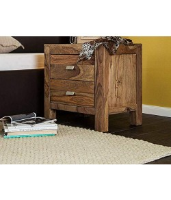 Walken Bed Furniture Wooden Bedside Table for Bedroom