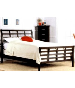 Allan Solid Wood Bed