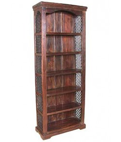 Stanfield Solid Sheesham Wood Book Shelf