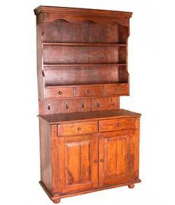 Trestle Sheesham Acacia Wood Cabinet