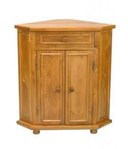 Darius Solid Sheesham Wood Kitchen Cabinet