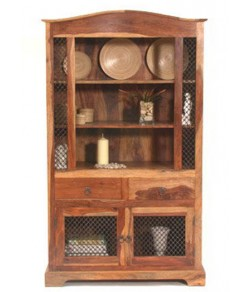 Monarch Solide Sheesham Wood Cabinet