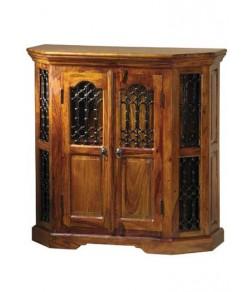 Hurtado Sheeshams Wood Cabinet