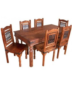 Chevalier Sheesham Wood Dining Table