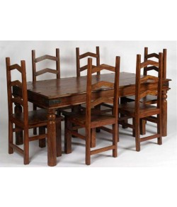 Cambrey 6 Solide Wood Seater Dining Table