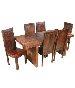 Chevalier solide Sheesham Wood Dining Table