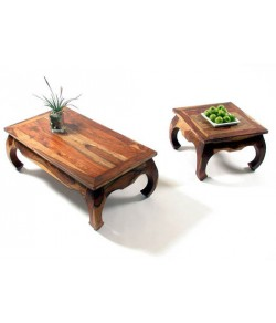 Oriel Sheesham Wood Nest of Tables