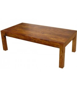 Lynet Coffee Solid Sheesham Wood Table